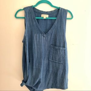 Cloth and Stone side tie tank